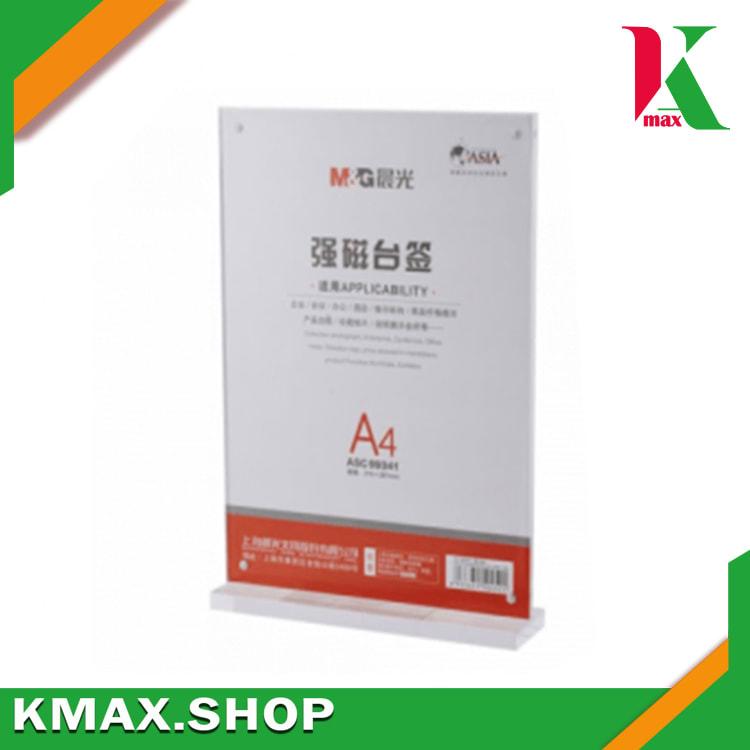 M&G Magnetic Menu Stand A4 T Shape 99341