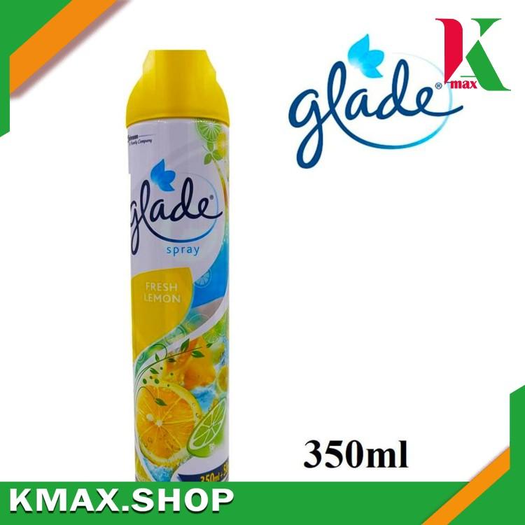 GLADE Air Fresher 350ml LEMON