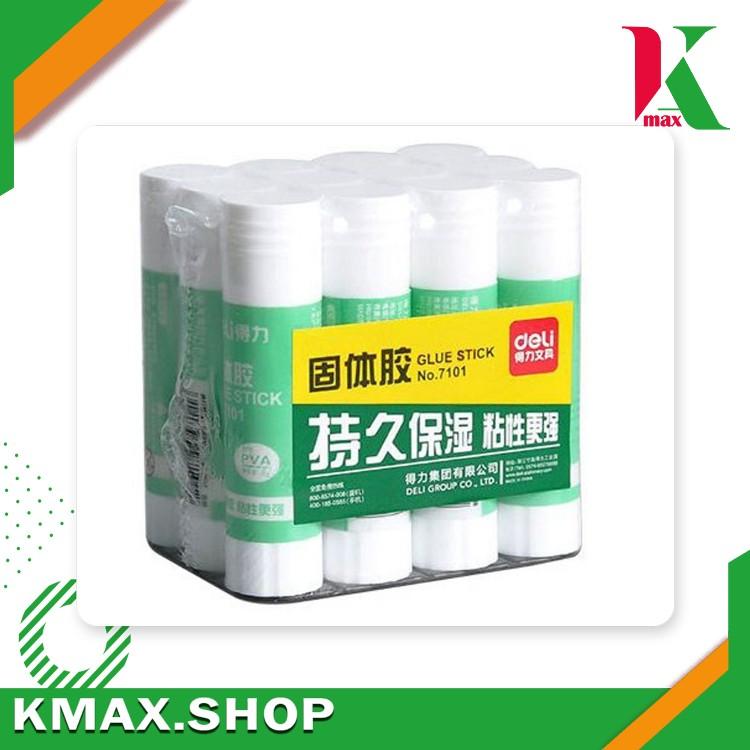 Deli Glue stick 9g 7101  (12Pcs/Doz)