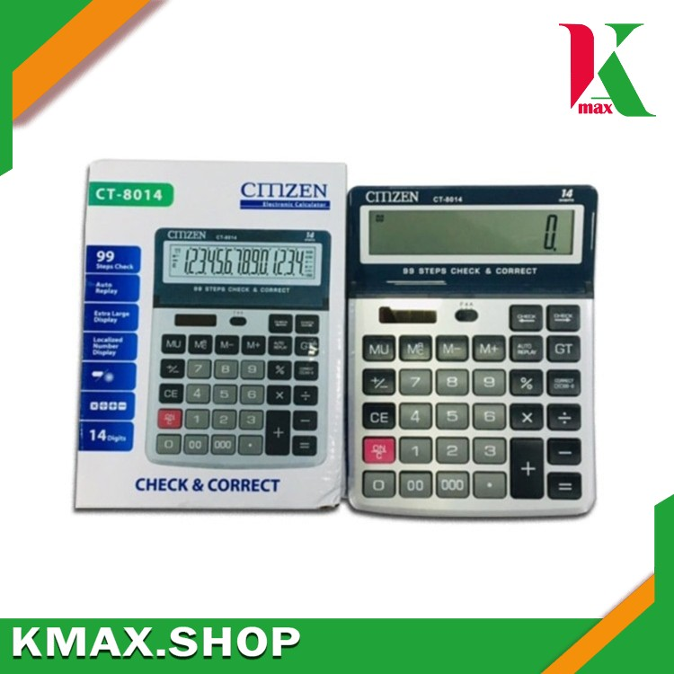 Office Calculator CITIZEN CT-8014 (14 Digit/ Large Display)